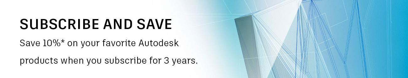 Autodesk GFP Subscribe and save
