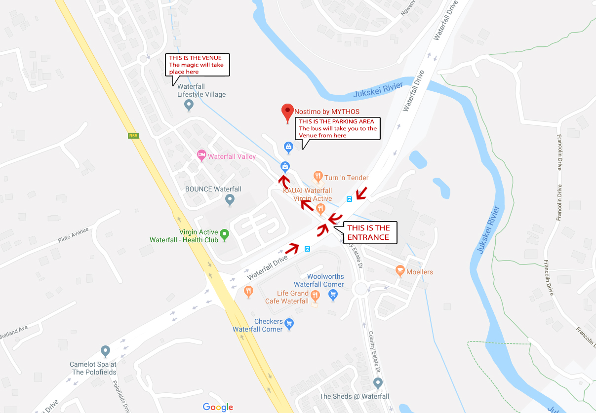 MAP TO EVENT VENUE
