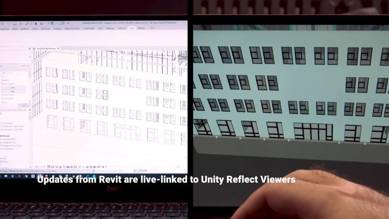 Unity Reflect video